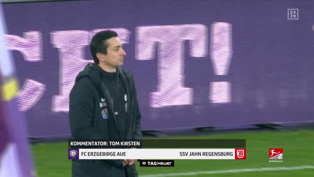 2. Bundesliga: Erzgebirge Aue - SSV Jahn Regensburg | DAZN Highlights