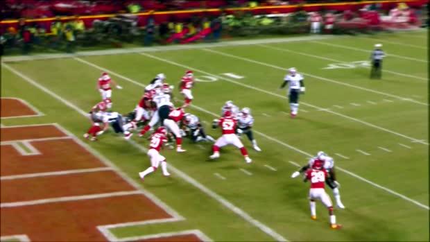 See New England Patriots running back Rex Burkhead's game winning TD in 360 degrees   True View