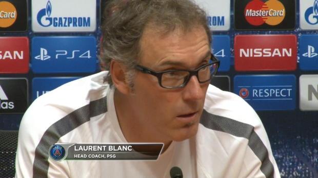 """Foot : LDC - Groupe F, PSG, Blanc : """"Sortir des poules est le premier objectif"""""""