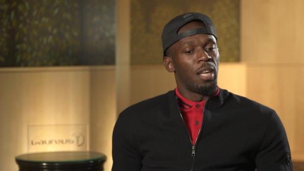 """Bolt: """"Wäre auf gleichem Niveau wie Rooney"""""""