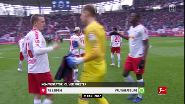 Bundesliga: RB Leipzig - VfL Wolfsburg | DAZN Highlights