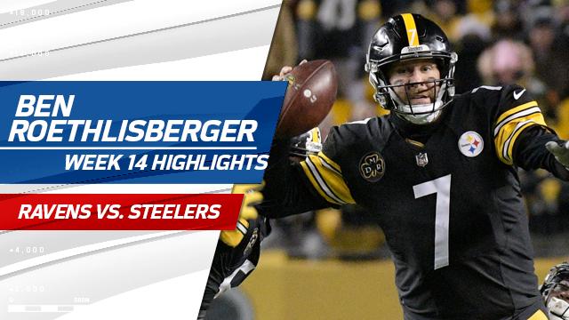 Ben Roethlisberger highlights | Week 14