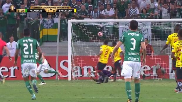 Copa Libertadores - Le contre foudroyant de Palmeiras !