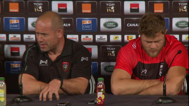 Top 14 - Finale : Cockerill content que Toulon ne soit pas favori