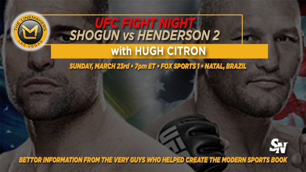 UFC Fight Night with Shogun vs. Henderson 2