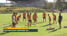 Brisbane Roar's defence has been further decimated following a calf injury to centre back Luke DeVere.