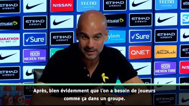 2eme j. - Guardiola - 'Mendy est très important pour notre vestiaire'