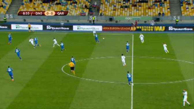 L.Europa : Dnipro 0-1 FC Qarabag
