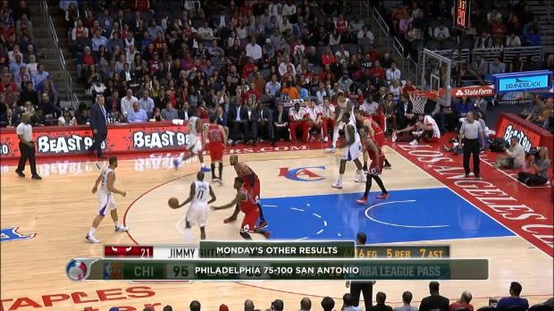 Basket : NBA - Chicago inarrêtable à l'extérieur