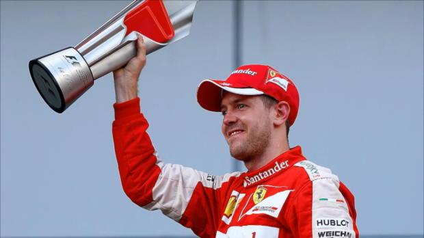 F1: Vettels erster Sieg für Ferrari