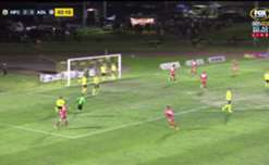 Nikola Mileusnic gave Adelaide United an early lead against Heidelberg United with a close range strike.