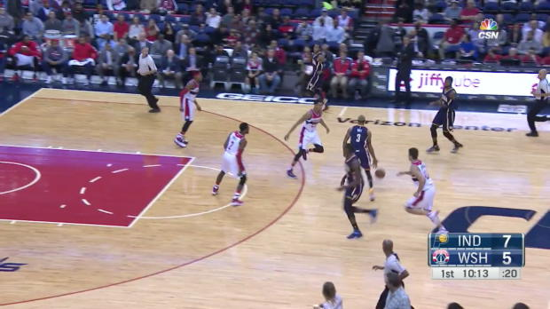 Paul George nets 40 points in win over the Wizards