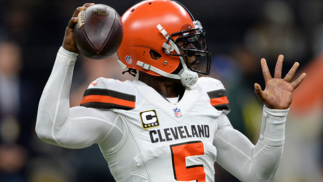 Peter Schrager: Cleveland Browns' results have 'not been' on quarterback Tyrod Taylor