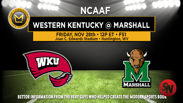 Western Kentucky Hilltoppers @ Marshall Thundering Herd