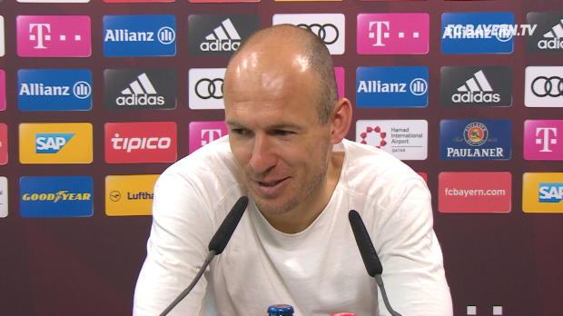 """Robben: China? """"Will auf hohem Niveau spielen"""""""