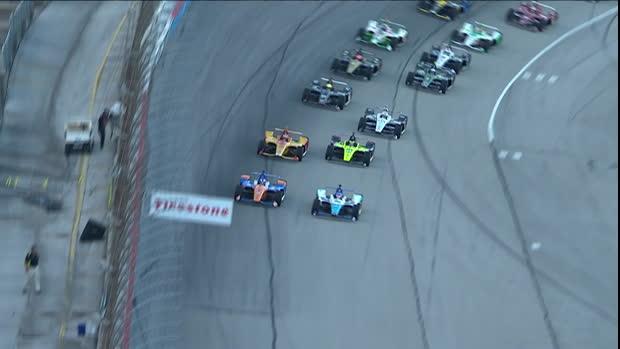 IndyCar DXC Technology 600: Rennen