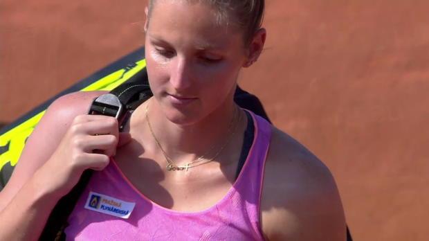 WTA Strasbourg: Garcia - Kr. Pliskova