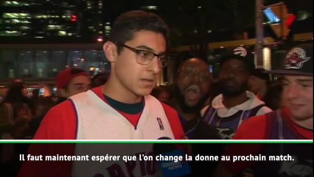 Basket : Raptors - La déception des fans à Toronto
