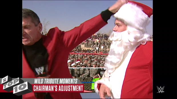 Wildest Tribute to the Troops moments: WWE Top 10, Dec. 11, 2017