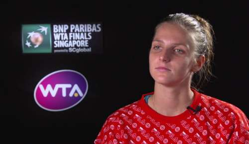 Pliskova Interview: WTA Singapore RR