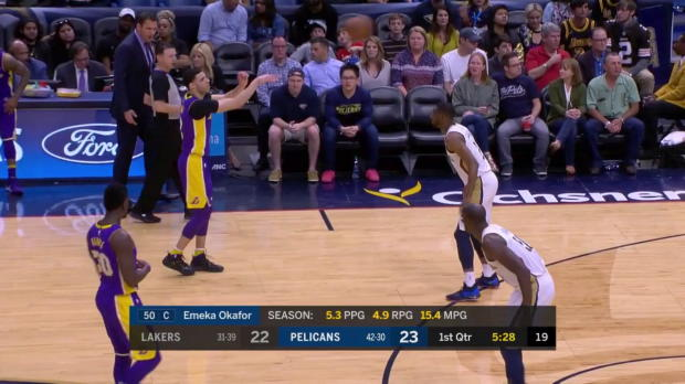WSC: Brook Lopez (23 points) Highlights vs. New Orleans Pelicans, 03/22/2018