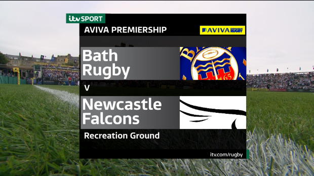 Aviva Premiership - Bath Rugby v Newcastle Falcons