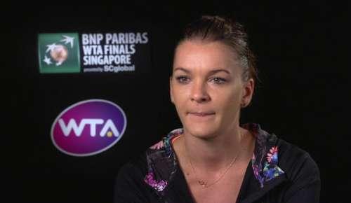 Radwanska Interview: WTA Singapore SF
