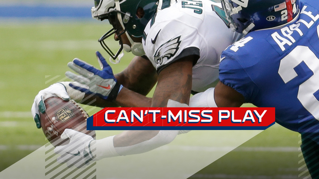 Can't-Miss Play: Philadelphia Eagles wide receiver Alshon Jeffery lays out to snatch ball from the air