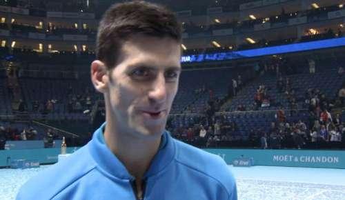 Djokovic Interview: ATP London Final