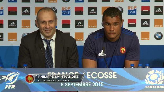 XV de France - PSA - 'Plein de confiance'
