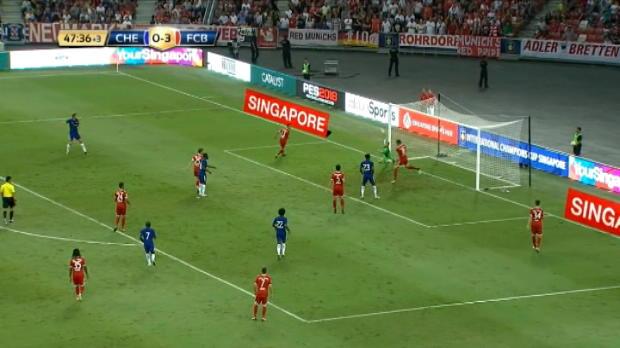 لقطة: كرة قدم: ألونسو يمنح تشلسي بارقة من الأمل أمام بايرن ميونيخ