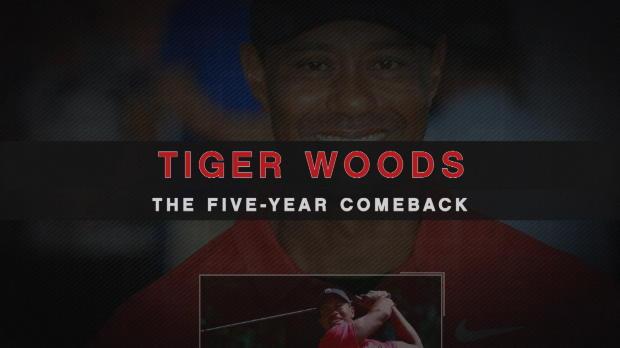 Tiger Woods: Sein fünfjähriges Comeback