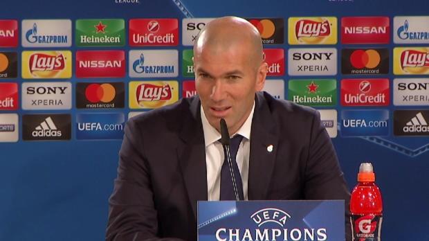 """Zidane warnt: """"Wird nicht einfach in Neapel"""""""