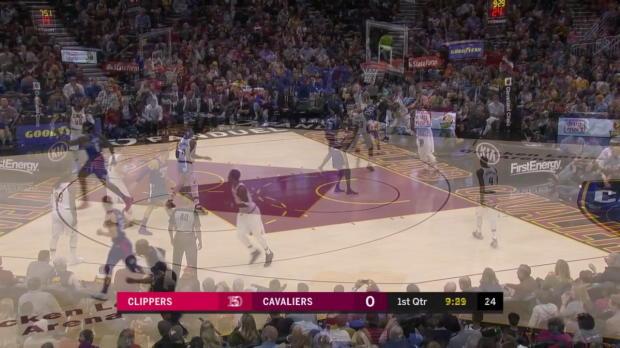 WSC: DeAndre Jordan (20 points) Game Highlights vs. Cleveland Cavaliers
