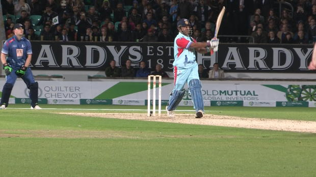 Dhoni sparkles in legends charity match
