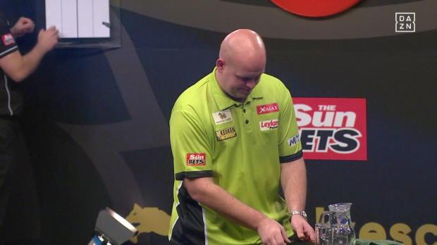 Viertelfinale: Van Gerwen - Dolan