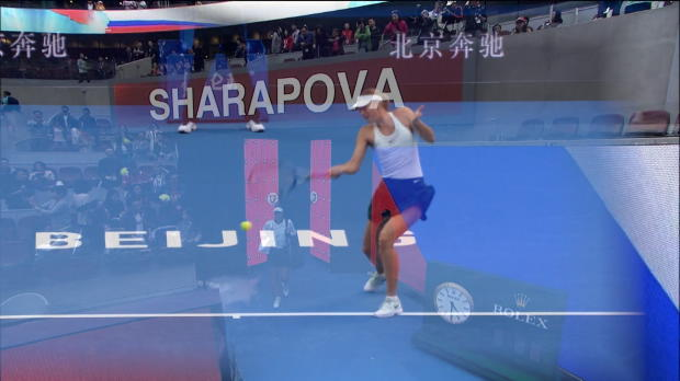 Peking: Haleps Premieren-Sieg gegen Sharapova