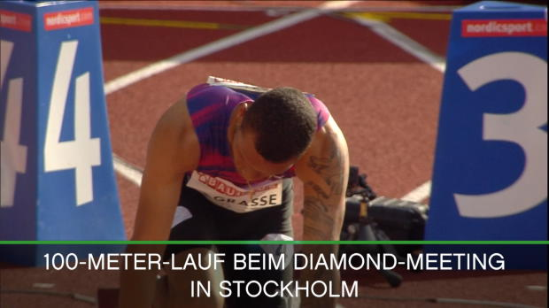 Diamond League: De Grasse historisch schnell