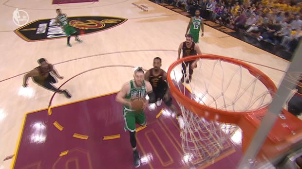 Block of the Night: LeBron James