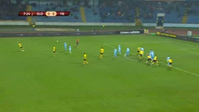 L.Europa : Slovan Bratislava 1-3 Young Boys