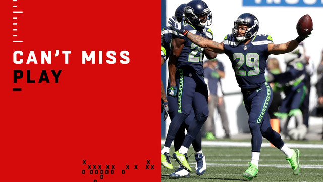Can't-Miss Play: Earl Thomas plucks INT inches from the ground