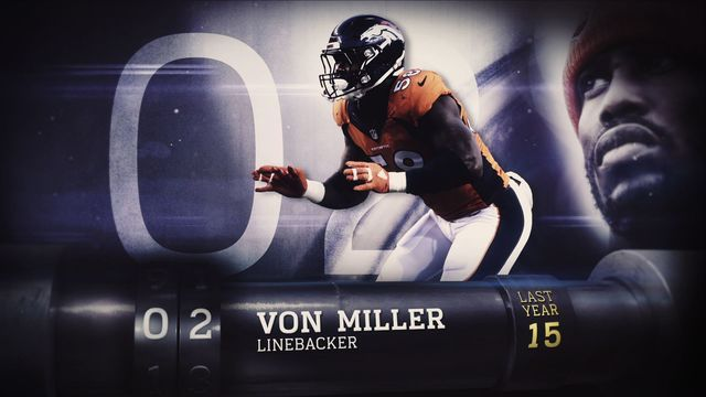 'Top 100 Players of 2017': No. 2 Denver Broncos linebacker Von Miller