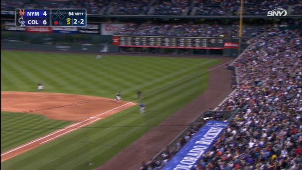Smith's 1st MLB triple