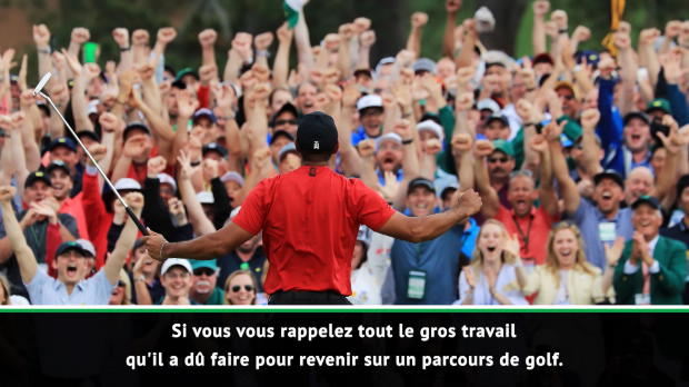 """Basket : Monte-Carlo - Nadal """"très ému"""" par la victoire de Woods au Masters"""