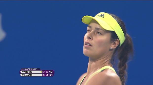 L1 : WTA - P�kin - Ivanovic �carte Venus Williams, Pennetta  au rendez-vous