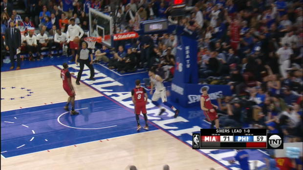 Assist of the Night: Dario Saric