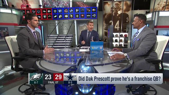 Did Dallas Cowboys quarterback Dak Prescott prove he's a franchise QB against Philadelphia Eagles?