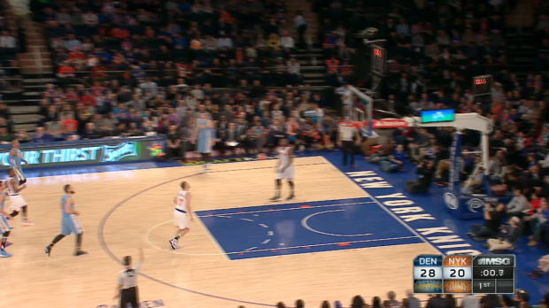 Buzzer Beater of the Night: Danilo Gallinari