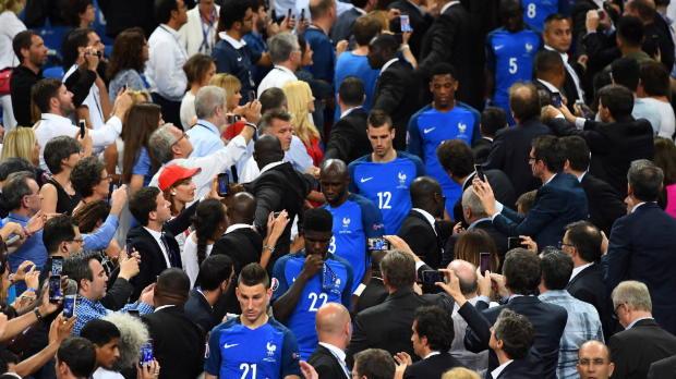 Frankreich der Europameister der Statistiken