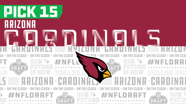 Arizona Cardinals pick No. 15 | NFL Mock Draft Live